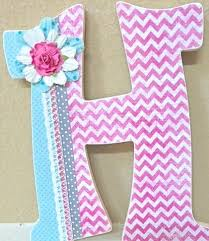 decorated letters for nursery thenurseries