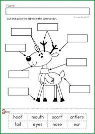 christmas reading worksheets buscar con google