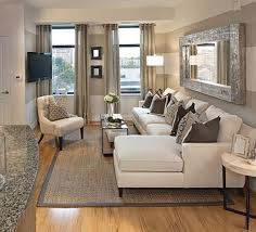 small living room decorating ideas sofa and glass coffee table also jute rug and small table dining