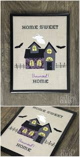haunted house halloween embroidery halloween embroidery fabric