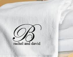 wedding gift towels 9 best images about monogram on set of honeymoon