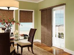 dining room blinds sliding glass door curtains ideas with blinds for dining room