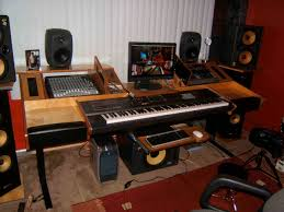 Music Studio Desk Workstation by Music Studio Desk With Keyboard Drawer Muallimce
