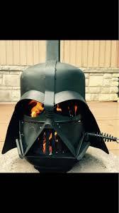Darth Vader Christmas Tree Topper by Darth Vader Star Wars Inspired Wood Burning Portable Fire