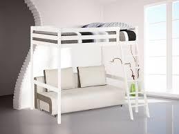 lit mezzanine et canapé photo lit mezzanine 2 places avec canape lit gascity for
