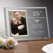 engraved anniversary picture frames years together