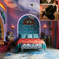 seeing carrie fisher u0027s amazing bedroom will make you miss her even