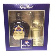 liquor gift sets crown royal blended canadian whisky gift set 750 northlake wine