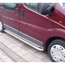 opel vivaro 2005 c2 ø60 opel vivaro stainless steel running boards pair shark