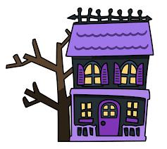 spooky halloween clipart spooky halloween house clipart clipartsgram com