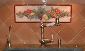 Kitchen Murals Backsplash by Classic Fruit U0026 Vegetable Tile Mural For Kitchen Backsplash