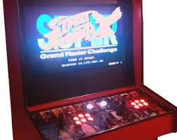 Street Fighter 3 Arcade Cabinet Arcade Cabinet Etsy