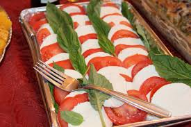 caprese salad appetizer or side dish bisous brittany