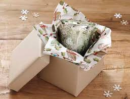 how to use tissue paper in a gift box series a few of s favorite things paper source