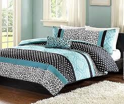Damask Print Comforter Animal Print Comforter Set Teal Stripe Black White Bed Bedding