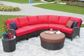 Circle Patio Furniture by Half Circle Patio Furniture
