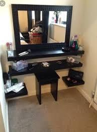 Diy Vanity Table Decor Penteadeiras Improvisadas White Makeup Vanity White