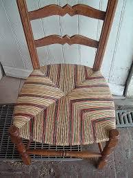 rempailler une chaise chaise rempailler une chaise avec du tissu awesome cannage