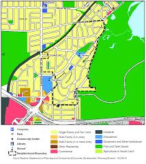 Monroe Wisconsin Map by Madison Neighborhood Profile Nakoma League