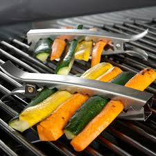 6 inch stainless steel grill clips set of 4 bbq guys