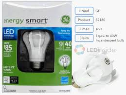 ledinside led light bulbs evaluation 40w incandescent light
