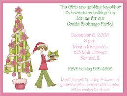 holiday cookie exchange invitations cookie exchange invitations