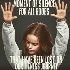 Your Loss Meme - the struggle of losing weight in your boobs popsugar fitness