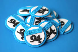 50th high school reunion souvenirs fondant class reunion toppers high school reunion fondant