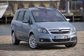 vauxhall zafira 2008 opel zafira specs 2006 2007 2008 autoevolution