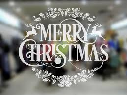 christmas wreath wall sticker suitable for windows walls mirrors christmas wreath wall sticker suitable for windows walls mirrors etc by gcmstore