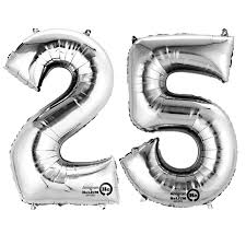 number balloons delivered silver two digit number balloons 10 99 delivered inflated in uk