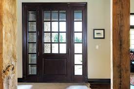 Front Door Interior Glenview Haus Custom Front Door Design A Growing Trend In Chicago Homes