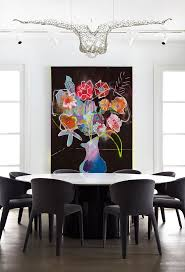 Dining Room Art Ideas Dining Room Excellent Chairs Canvas Diningroom Wall Design