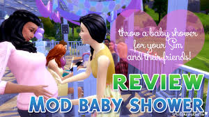 mod baby shower los sims 4 baby shower mod descarga e instala tesasims