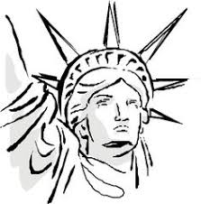 how to draw statue of liberty face how to draw pinterest