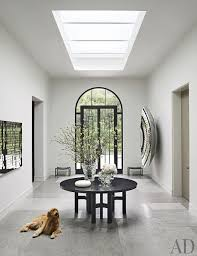 contemporary entrance hall by steven volpe design and butler