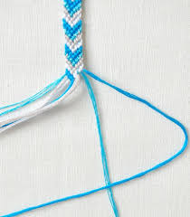 make bracelet from string images Friendship bracelets purl soho jpg