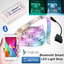 Led Light Strips For Computer Case by Smart Bluetooth 4 0 Computer Rgb Led Light Strip For Pc Computer