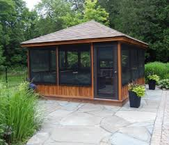Backyard Gazebo Ideas Outdoor Gazebo Decorating Ideas For Summer With Curtain And Pool