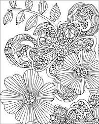 1186 colouring flowers images