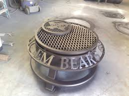Custom Fire Pit Covers by Custom Made Fire Pit Covers Outdoor Fire Pit Bowl Fire Pits For