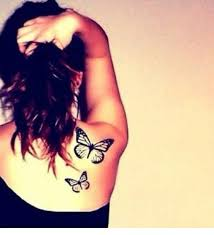 tattoos of butterflies on shoulder meaning design idea for and