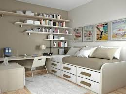 Ideas For Decorating A Small Bedroom Small Bedroom Office Ideas Racetotop Com