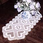 Crochet Table Runner Pattern Hass Design Crochet Patterns And Classes