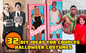 easy costumes 32 diy ideas for couples costumes