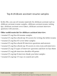 Child Care Resume Sample No Experience by Child Care Assistant Cover Letter Sample Child Care Resume Skills