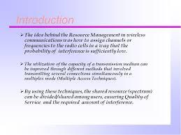 Multiplex Definition Outline Introduction Resource Management And Utilization