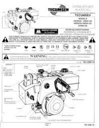 hmsk105 tecumseh snow blower engine manual