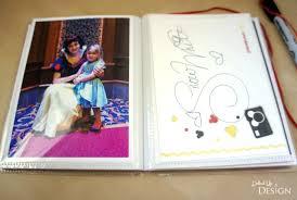 diy disney autograph books moms u0026 munchkins