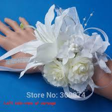 wedding accessories store aliexpress buy silk wedding corsage for wedding